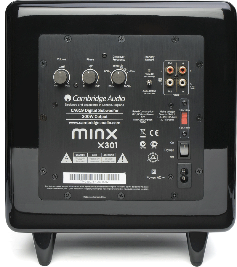 CAMBRIDGE AUDIO MINX X301